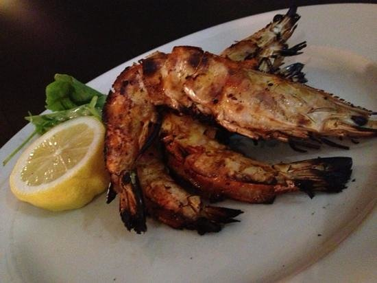 Esca Grill: kickass giant grilled prawn. super awesome!!