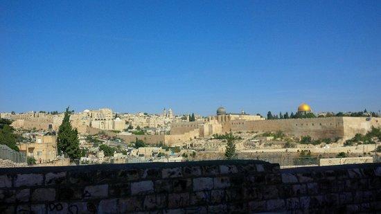 Jerusalem Panorama Hotel: Morning view!