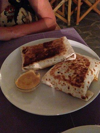 Miakoda Bar Restaurant: Chorizo burrito