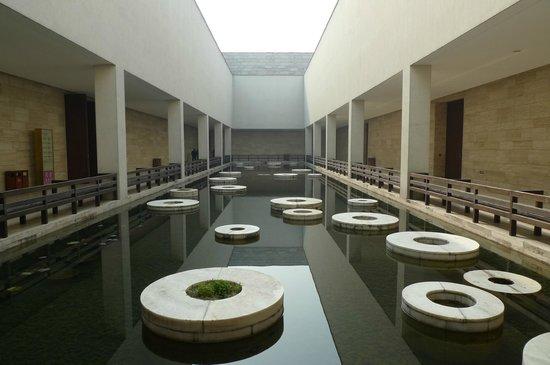 Courtyard at Liangzhu Museum