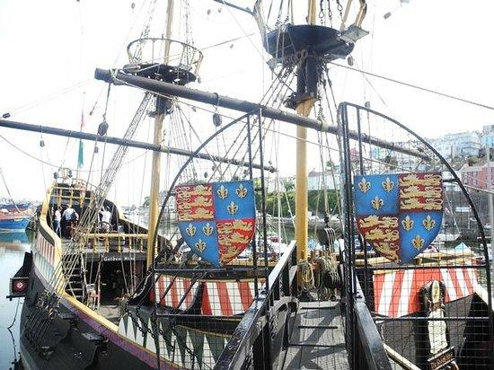 Golden Hind Museum Ship: Golden Hind