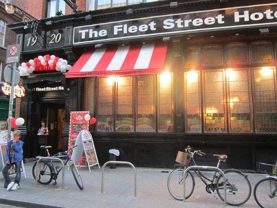 The Fleet Street Hotel: esterno dell'hotel