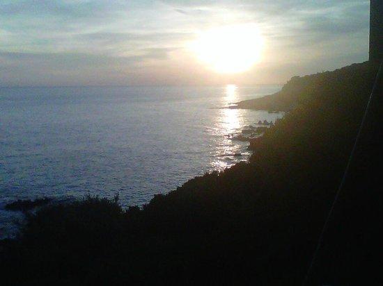 Hotel Punta Rossa: sunset