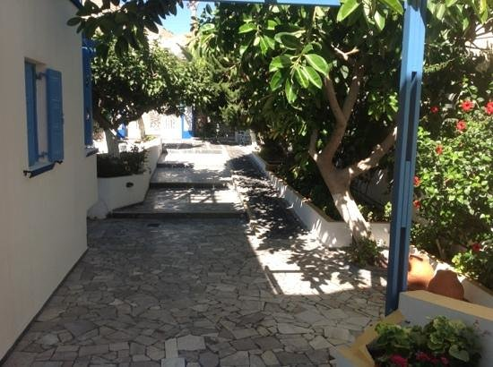Artemis Hotel: giardino