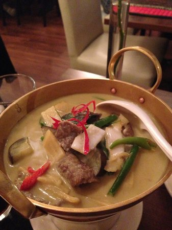 The Old Siam: Beef Green Curry