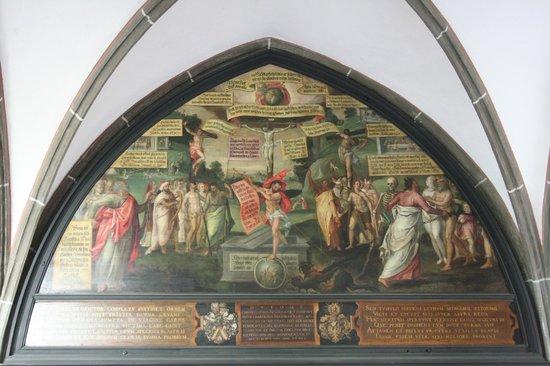 St.-Anna-Kirche: affresco cappella orafi