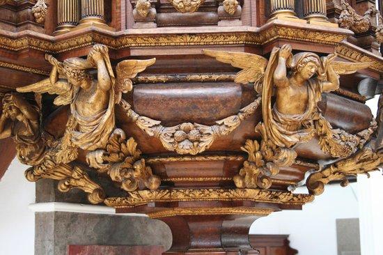 St.-Anna-Kirche: dettaglio pulpito