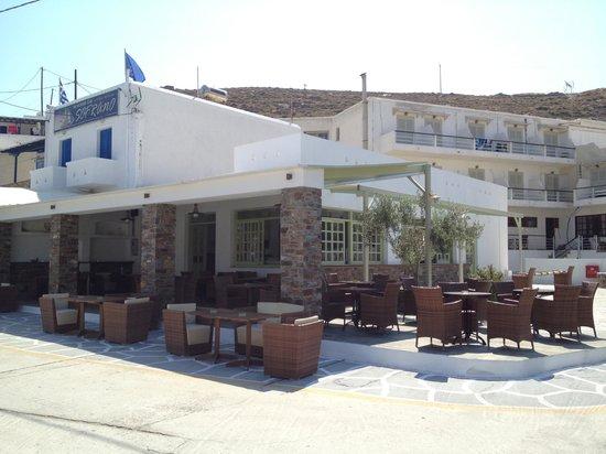 Kythnos Bay Hotel: Kythnos crepe