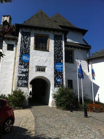 Chateau de Clervaux : the Castle entrance