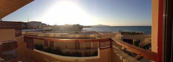 SENSIMAR KALLISTON Resort & Spa by ATLANTICA: The view from my junior suite