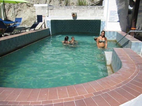 Hotel Regina del Mare: la piscina termale