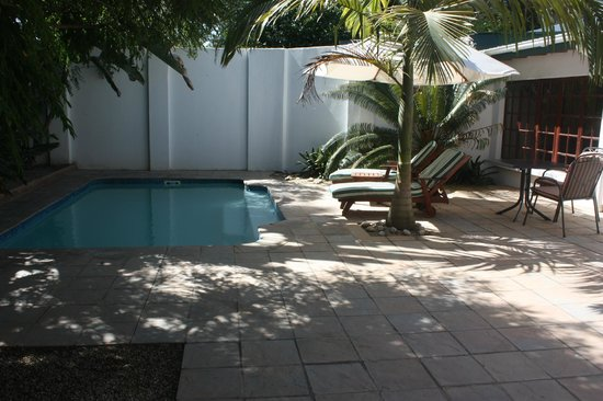 Woodall Country House and Spa: private pool inside walled patio