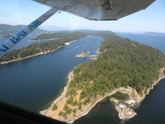 Pat Bay Air Floatplane Tours: Island view 2