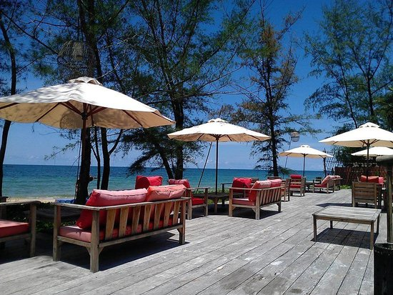 Mango Bay Resort: The beach bar