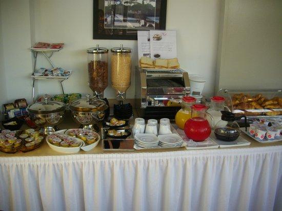 Pincio : buffet petit déjeuner