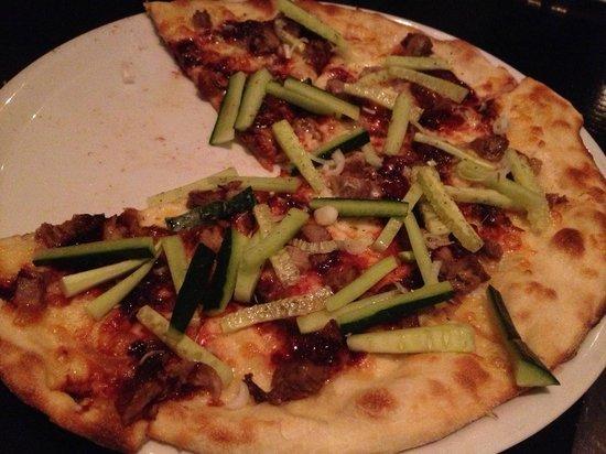 The Key & Eagle : Pizza Crispy Duck