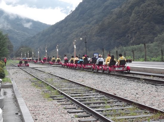 Jeongseon Rail Bike