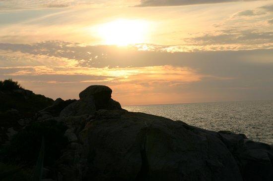 Club Med Sant'Ambroggio : Coucher de soleil