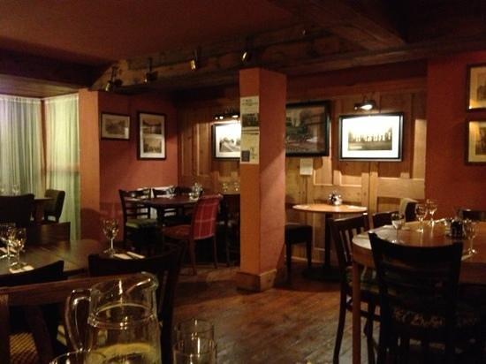 The Wheatsheaf: Restaurant area