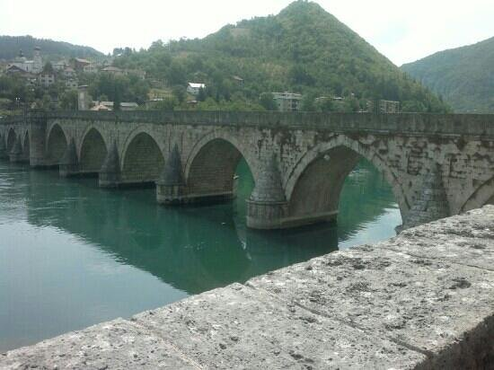 Visegrad, Bosnia and Herzegovina: The Bridge on the Drina