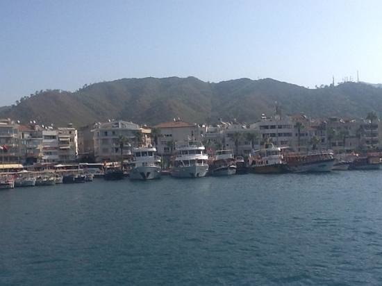 Blue Palace: mamaris harbour
