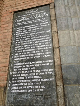 Jama Masjid Mosque: Information worth a read