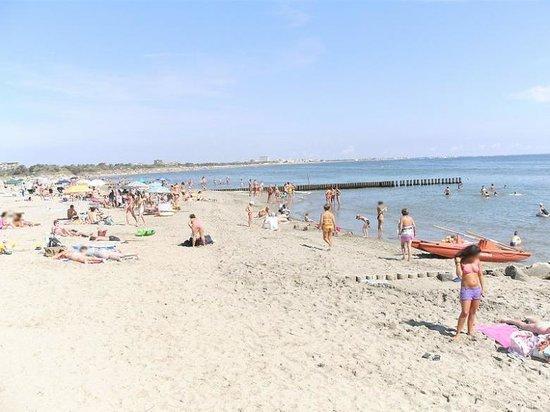 Michelangelo Resort: Spiaggia