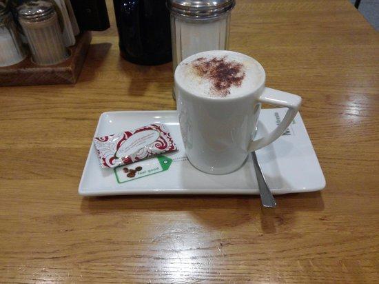 Airbräu Brauhaus: coffee
