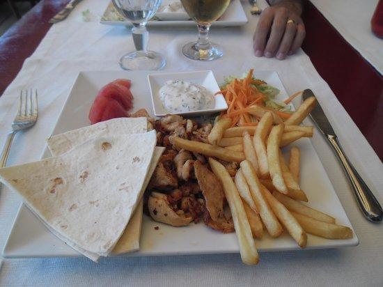 Bitez Seaside: Doner Kebab, piatto tipico