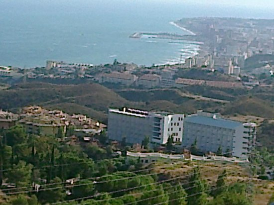 Apartmentos Reserva del Higueron Deluxe and Spa : uitzicht vanuit de kamer