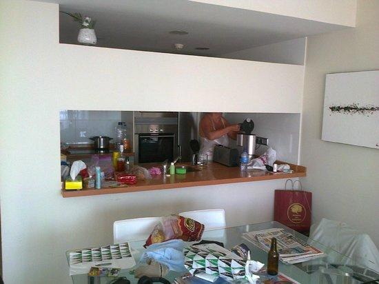 Apartmentos Reserva del Higueron Deluxe and Spa: keuken 2