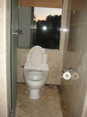 Puri Wulandari Boutique Resort: Cramped toilet