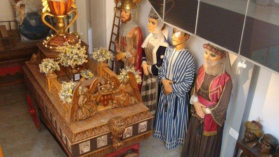 Museo del Corpus Casa de las Rocas: Costumi