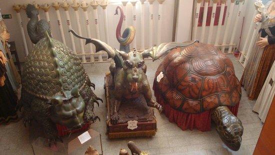 Museo del Corpus Casa de las Rocas: Particolari sfilata