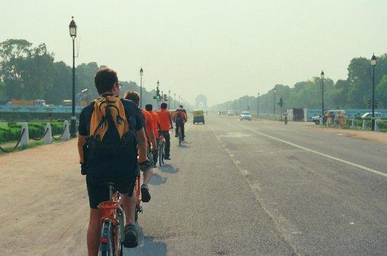 DelhiByCycle : Raj tour (New Delhi)