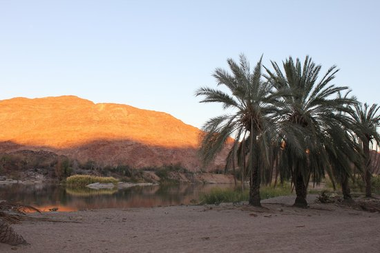 Northern Cape, Sudafrica: Orange/Gariep river sundowner