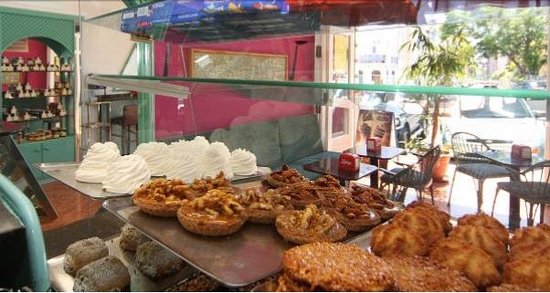 Café Melita Santa Cruz: Dulces