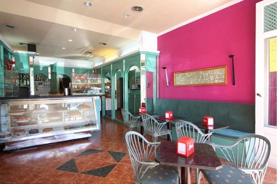 Café Melita Santa Cruz: Mostrador