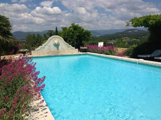 B&B Le Mas Jorel: le pool