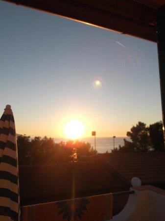 Hotel Paradiso: Sicht vom Zimmer