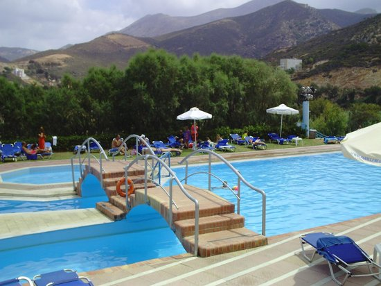 Fodele Beach & Water Park Holiday Resort: Κεντρική πισίνα