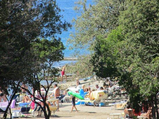 Falkensteiner Family Hotel Diadora: Beach