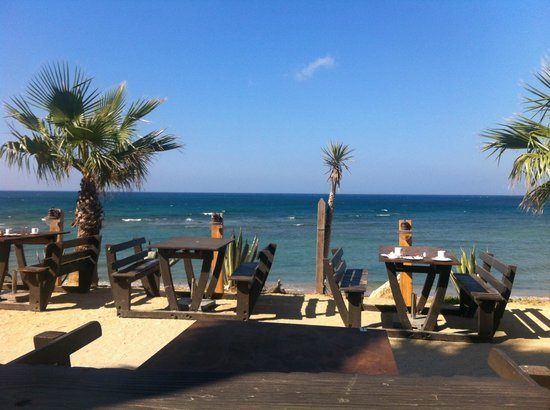 Sajorami  Beach: restaurante