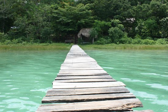 Hotel Mon Ami: Le lac Petén Itza