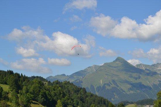 Loc'hotel Alpen'Sports: vue depuis la chambre