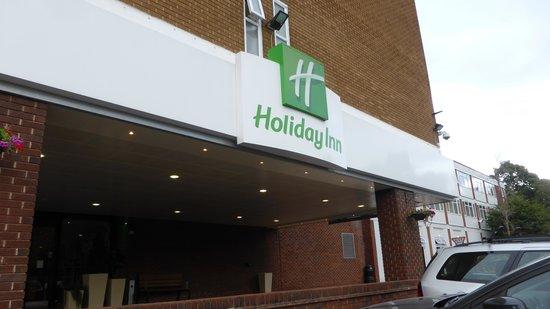 Holiday Inn York: The Entrance