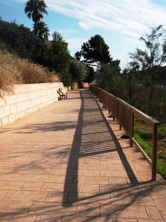 Exagon Park : Petit sentier vous emmenant à la plage, en mm pas 5min