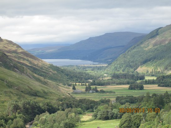 Poolewe Hotel : The magnificent scenery