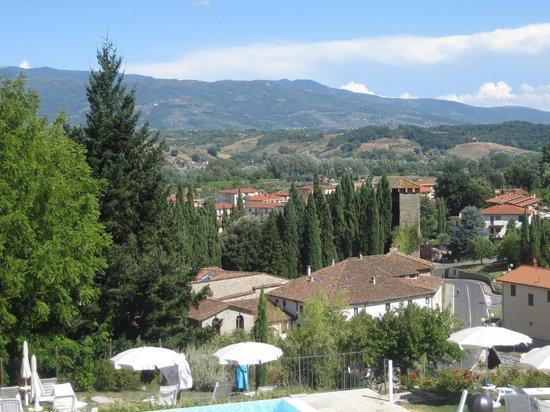 Hotel Villa Casagrande: View from pool at Villa Casagrande