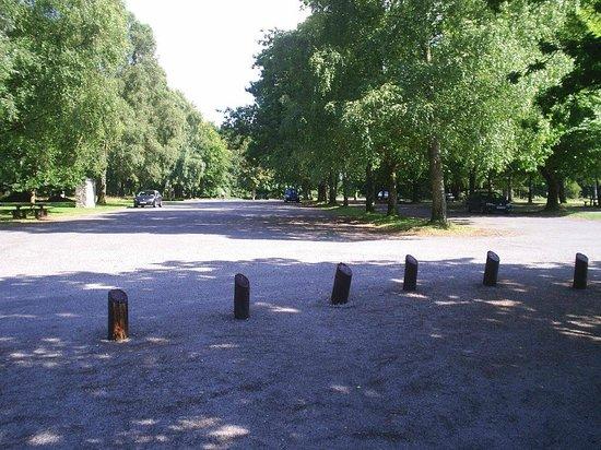Portumna Forest Park : Car park